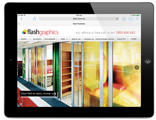 flash graphicson ipad